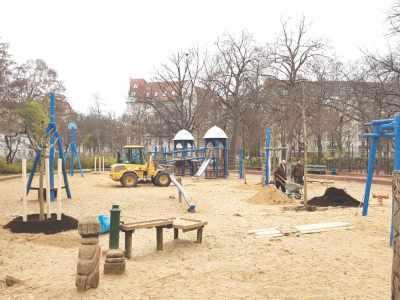 Spielplatzbäume am Hochmeisterplatz