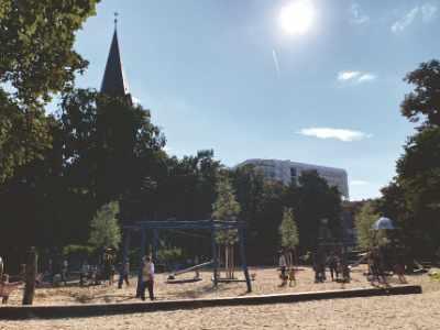Spielplatzbäume in Berlin